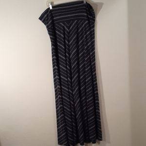 Xxl mossimo supply long blue skirt